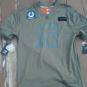 Nike Andrew Luck Salute to service Colts Jersey